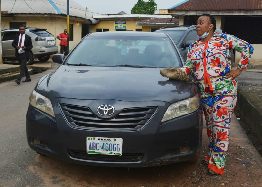 Fake Female Lawyer Apprehended in Imo (Photo)