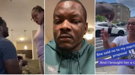 Man Gifts Car to Woman Who Rejected His Marriage Proposal (Video)