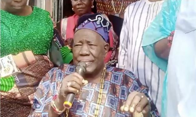Protesters Meet Olubadan, Demand Release Of Igboho's Aides Within Seven Days