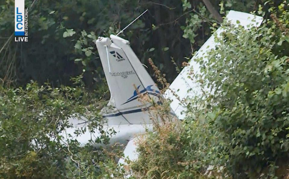 Horror! Three Dead As Trainer Plane Crashes In Mountainous Region (Photos)