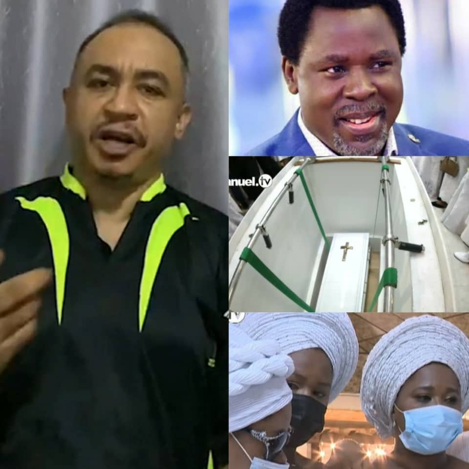 Daddy Freeze Blasts Top Nigerian Pastors Who Did Not Attend Late Prophet T.B Joshua's Funeral (Video)