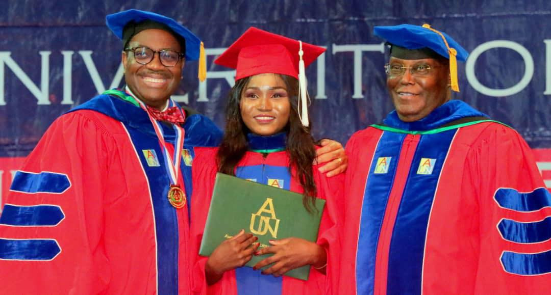 Chibok School Girl Bags Accounting Degree 7 Years After She Was Abducted By Boko Haram Members (Photos)