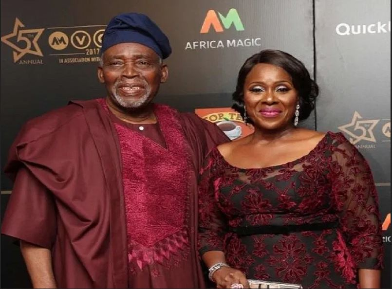 Veteran Actor, Olu Jacobs Turns 79 Years Old...Check Out How His Wife, Joke Silva Celebrated Him