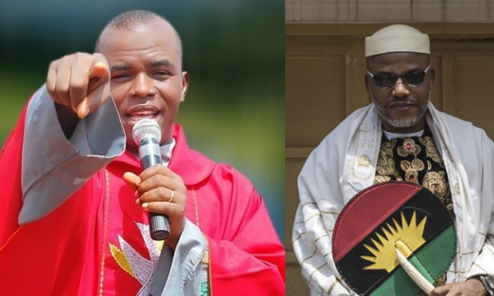 Father Mbaka Calls for Nnamdi Kanu's Release