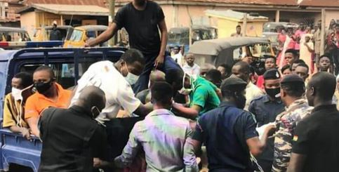Police Arrest Six Men For Inserting Stick Into An*s Of 16-year-old Suspected Thief