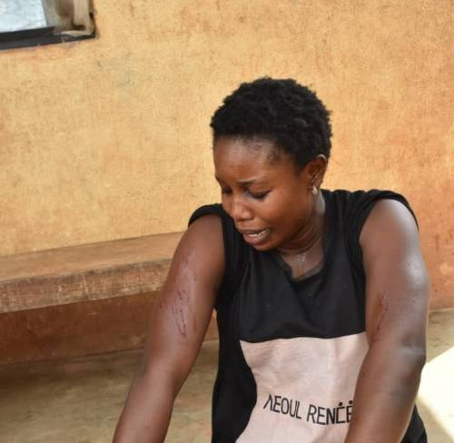 My Police Husband Tortures Me With Teargas, Threatened To Kill Me Any Day I Speak Up — Wife (Photo)