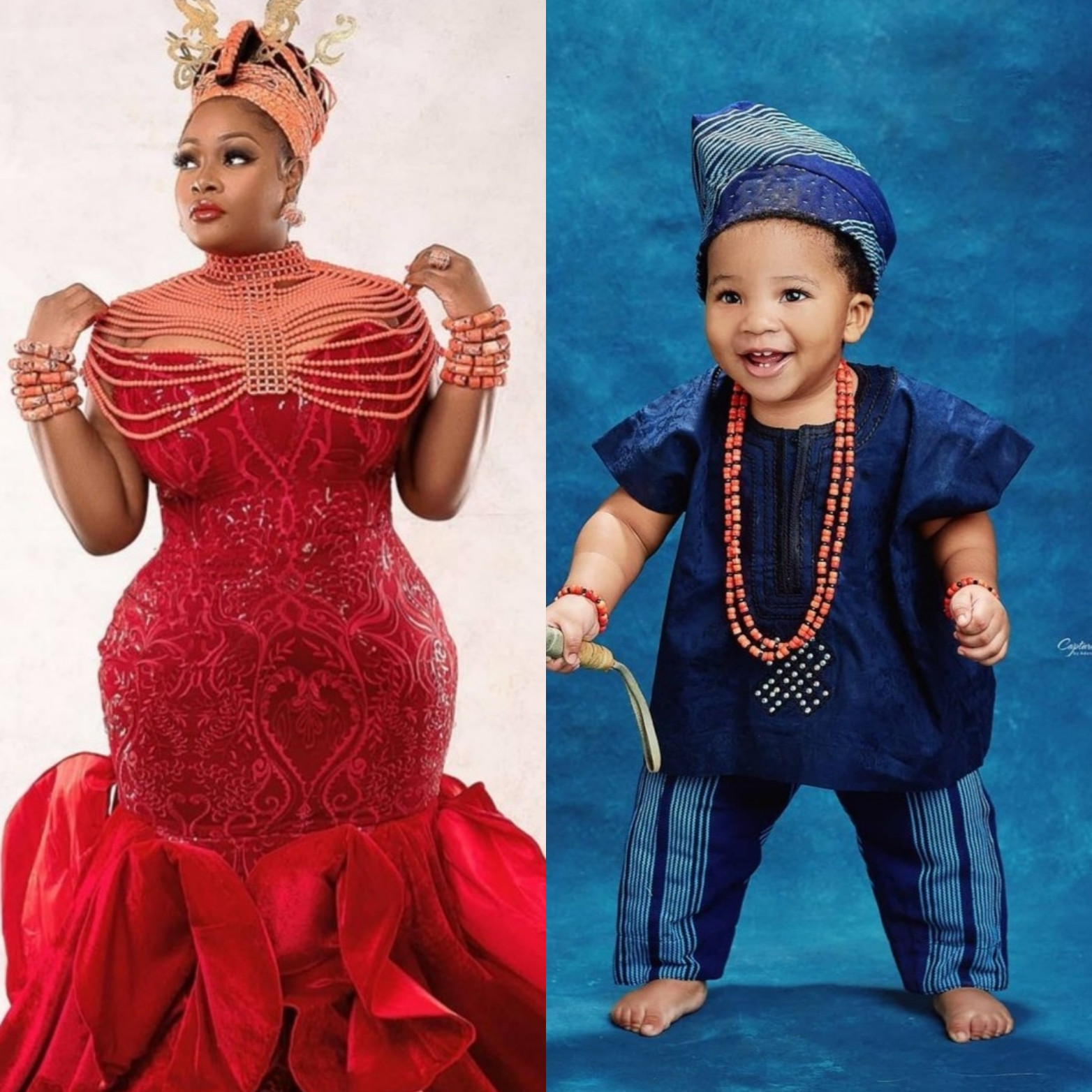 Toolz Shares Adorable Photos Of Her Second Son for the First Time As He Turns One