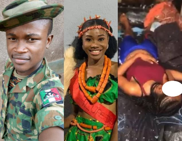 Solider Allegedly Murders Girlfriend Then Cuts Off Her Finger Over Alleged Cheating (Photos)