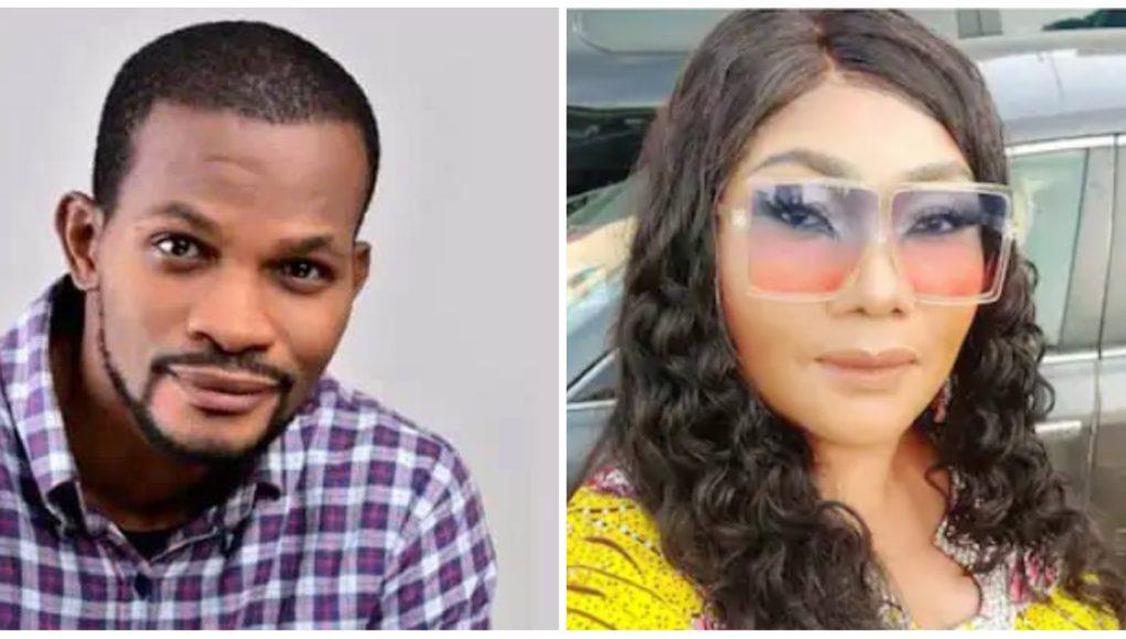 """I'm Destined To Pay Your Bride Price"" – Uche Maduagwu Shoots His Shot at Veteran Actress, Eucharia Anunobi"