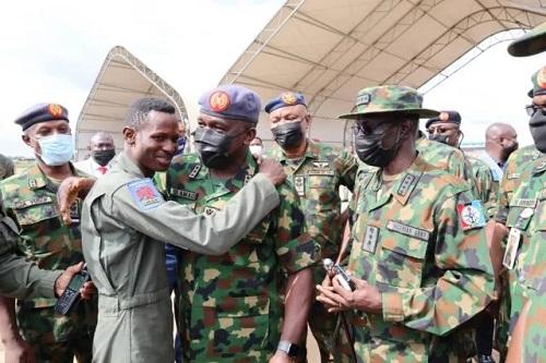 Photo Of Pilot Who Escaped Death After Bandits Shot Down NAF Jet In Zamfara