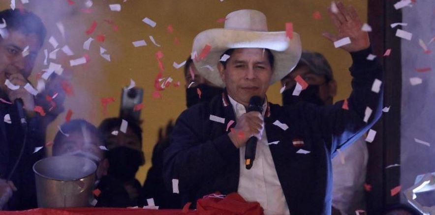 School Teacher, Pedro Castillo Declared Peru's New President