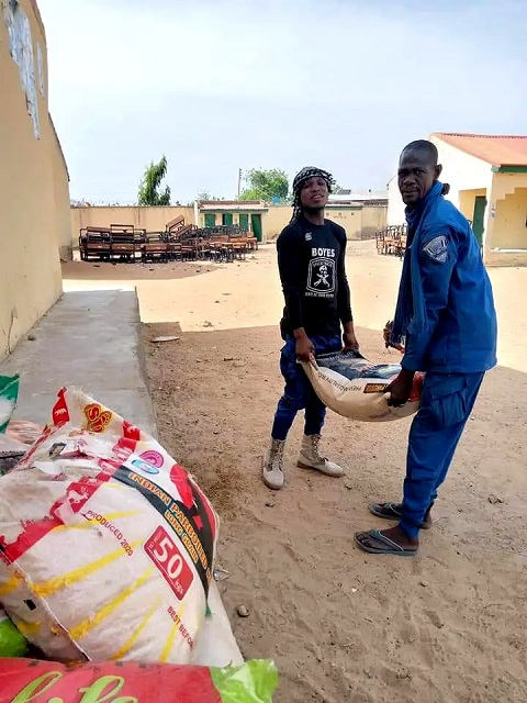 Governor Zulum Gives N50m, Foodstuffs To Civilian JTF, Hunters