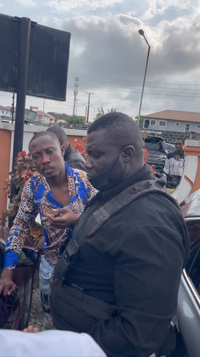 Thief Caught And Disgraced At Ubi Franklin's Son's Birthday Party (Photo, Video)