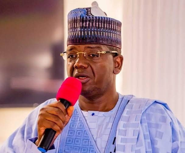 Policemen Boo Governor Matawalle After Bandits Murdered 13 Colleagues