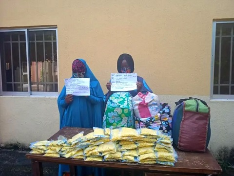 Notorious Female Drug Barons Arrested In Benue State (Photo)