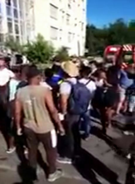 Three Nigerian Migrants Die After Jumping From 10-storey Building To Escape Fire In France (Videos)