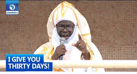 Taraba Emir Gives Herders and Bandits 30-Day Ultimatum To Vacate Forests (Video)