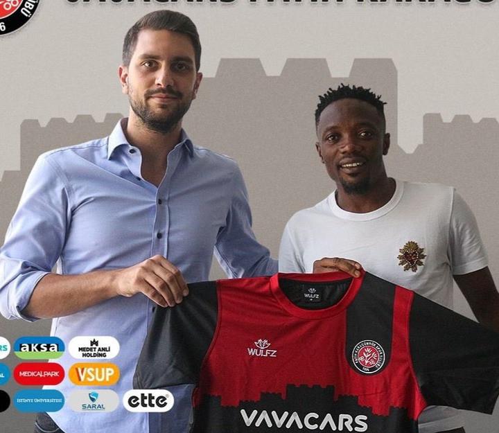 Super Eagles Captain, Ahmed Musa Signs for Karagumruk SK in Turkey (Photos)