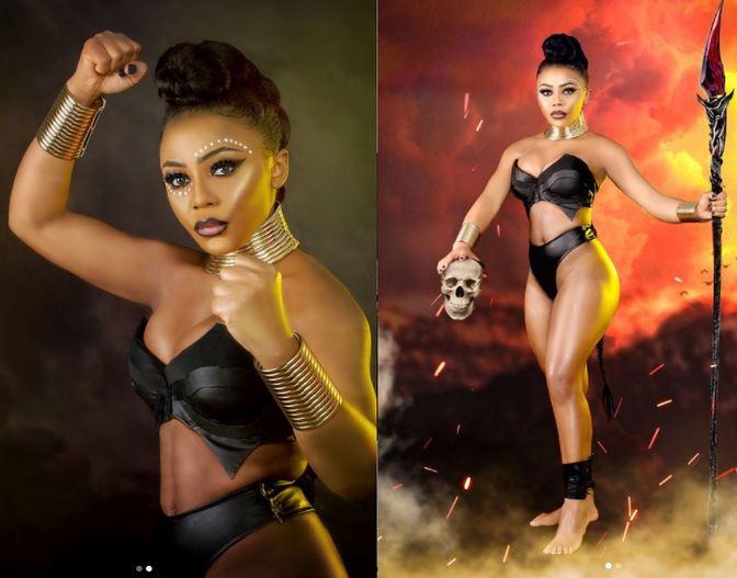 BBNaija Star, Ifu Ennada Stuns Fans As She Celebrates Her Birthday With Sexy Photos