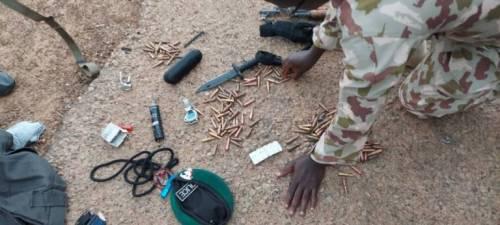Nigerian Soldiers Arrest 'Policeman' With Ammunition, Grenade In Terror-ravaged Borno