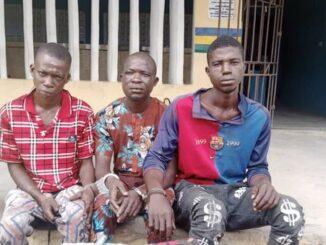 Police Arrest Three For Robbing A Provision Shop In Ogun