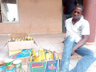 Man Arrested For Stealing Food Items Says The Shop Was Open So He Took What He Wanted