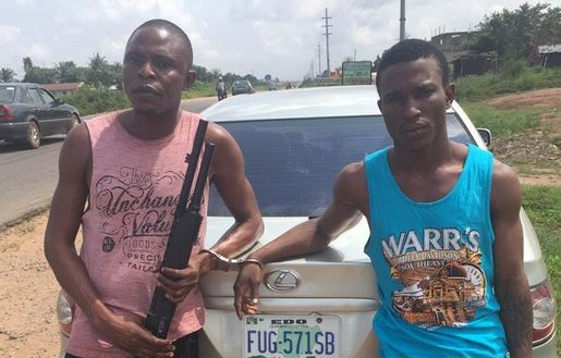 Police Arrest Two Suspected Cultists With Gun And Indian Hemp In Edo