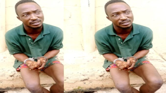 Man arrested for killing his girlfriend and raping her corpse