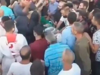 Mourners stunned as 'corpse' in coffin comes back to life moments before funeral (video)