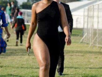 Zodwa Wabantu spent a night in police cell