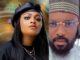 #BBNaija Shine Ya Eye: Tega's husband in defence after male housemate Saga sucked her breast on live TV