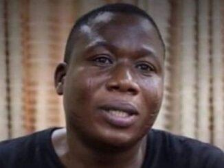 Sunday Igboho speaks from Cotonou prison